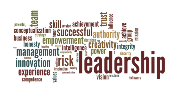student leadership word cloud