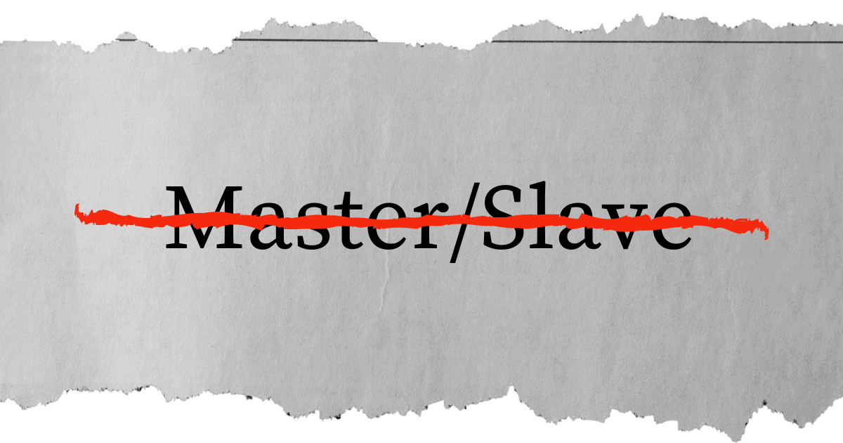 master and slave engineering term