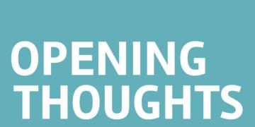 Opening Thoughts: Multifaceted Impacts Opening Thoughts