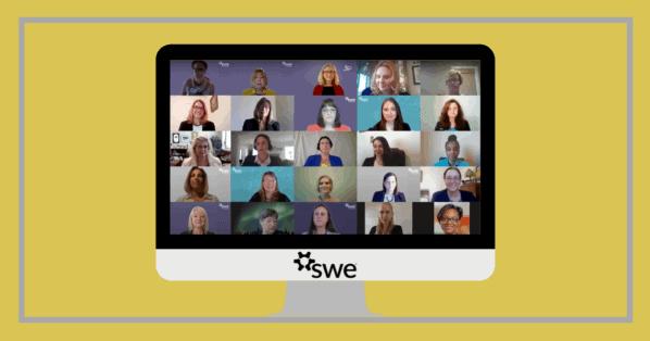 Society of Women Engineers virtual meeting