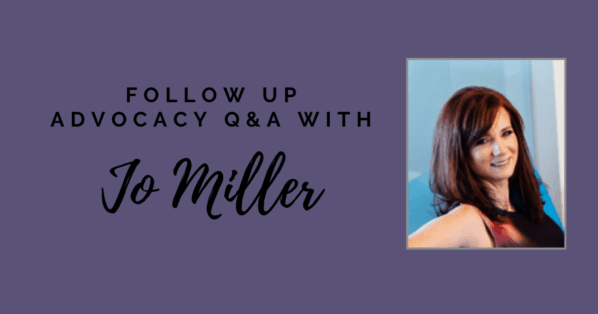 Follow-up Q&a: How To Attract Advocacy Of Influential Sponsors With Jo Miller