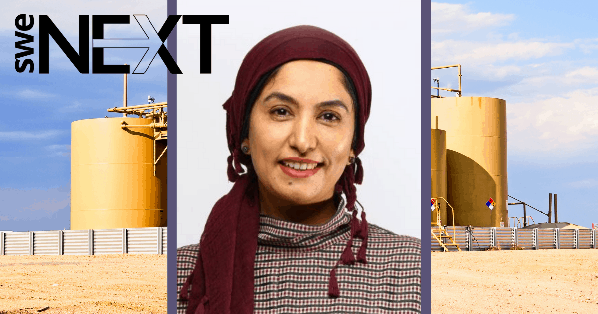 Petroleum engineer Hala Hashmi