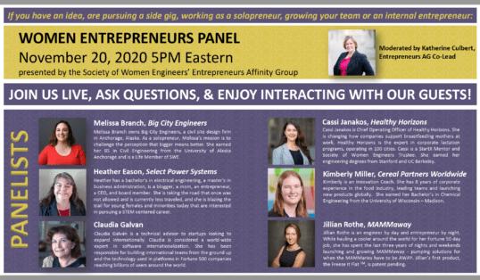 Women's Entrepreneurship Day agenda 2
