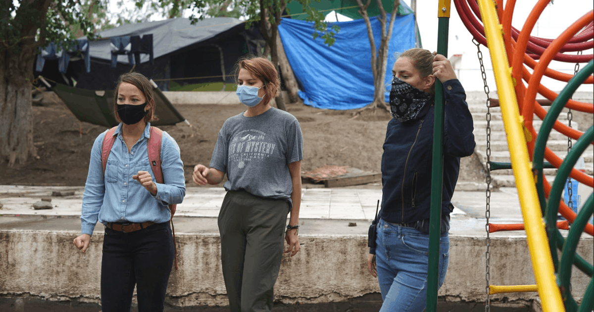 """Women Engineers Start """"solidarity Engineering"""" To Improve Life At Migrant Camp"""