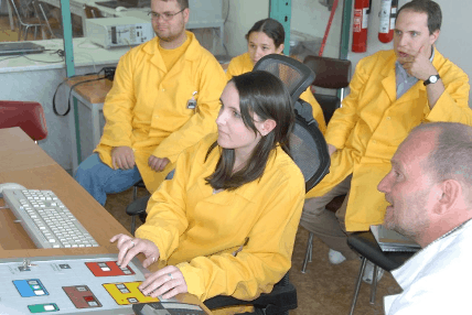A Day in the Life of Nuclear Engineer Hailey Green nuclear engineer