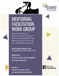 Learn More About Swe Mentoring Programs Jan. 21 & 23