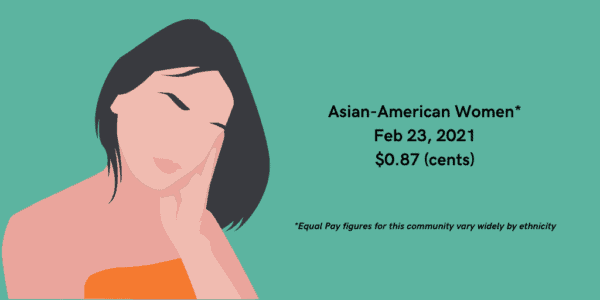 Demand Equal Pay for AAPI Women! AAPI