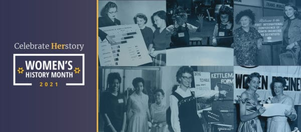 Women's History Month Through The Scope Of Swe