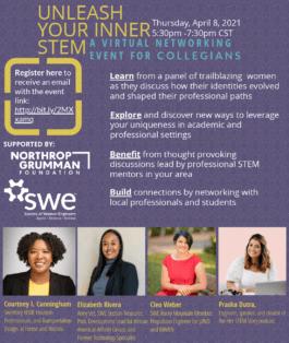 Unleash Your Inner STEM flyer