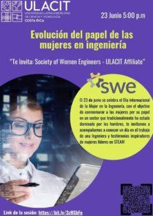 ¡Únase a estos eventos globales de SWE en el Día Internacional de la Mujer en la Ingeniería!  Día Internacional de la Mujer en la Ingeniería