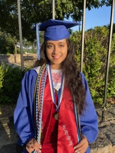 Shivani Desai graduation image