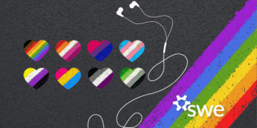 Podcast: SWE Celebrates Pride Month: Experiences of Nonbinary Students in Engineering nonbinary students