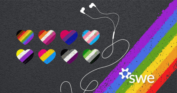 Podcast: SWE Celebrates Pride Month: Experiences of Nonbinary Students in Engineering - nonbinary students