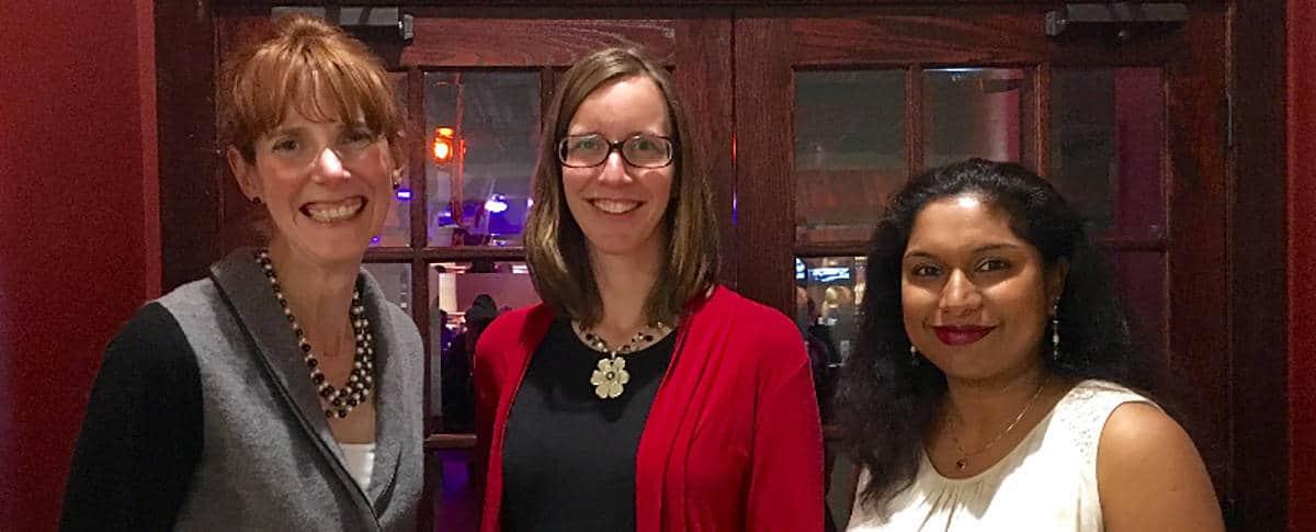 Jada Hoerr - FY 15-16 SWE-CI President Kirsten Mauritzson - Advocacy Committee member Megha Garg - Advocacy Committee Chair