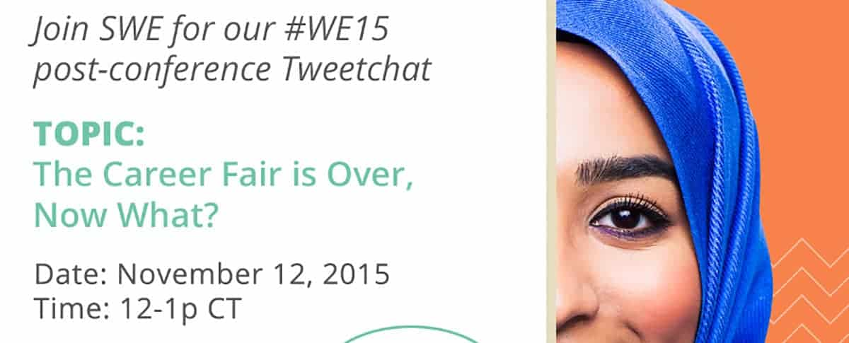 Society of Women Engineers, TweetChat with Alcoa